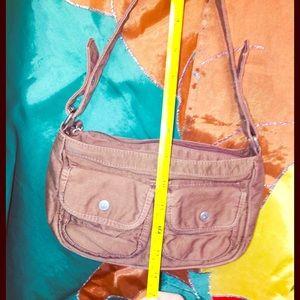 Aeropostale's Brown Cotton Bag